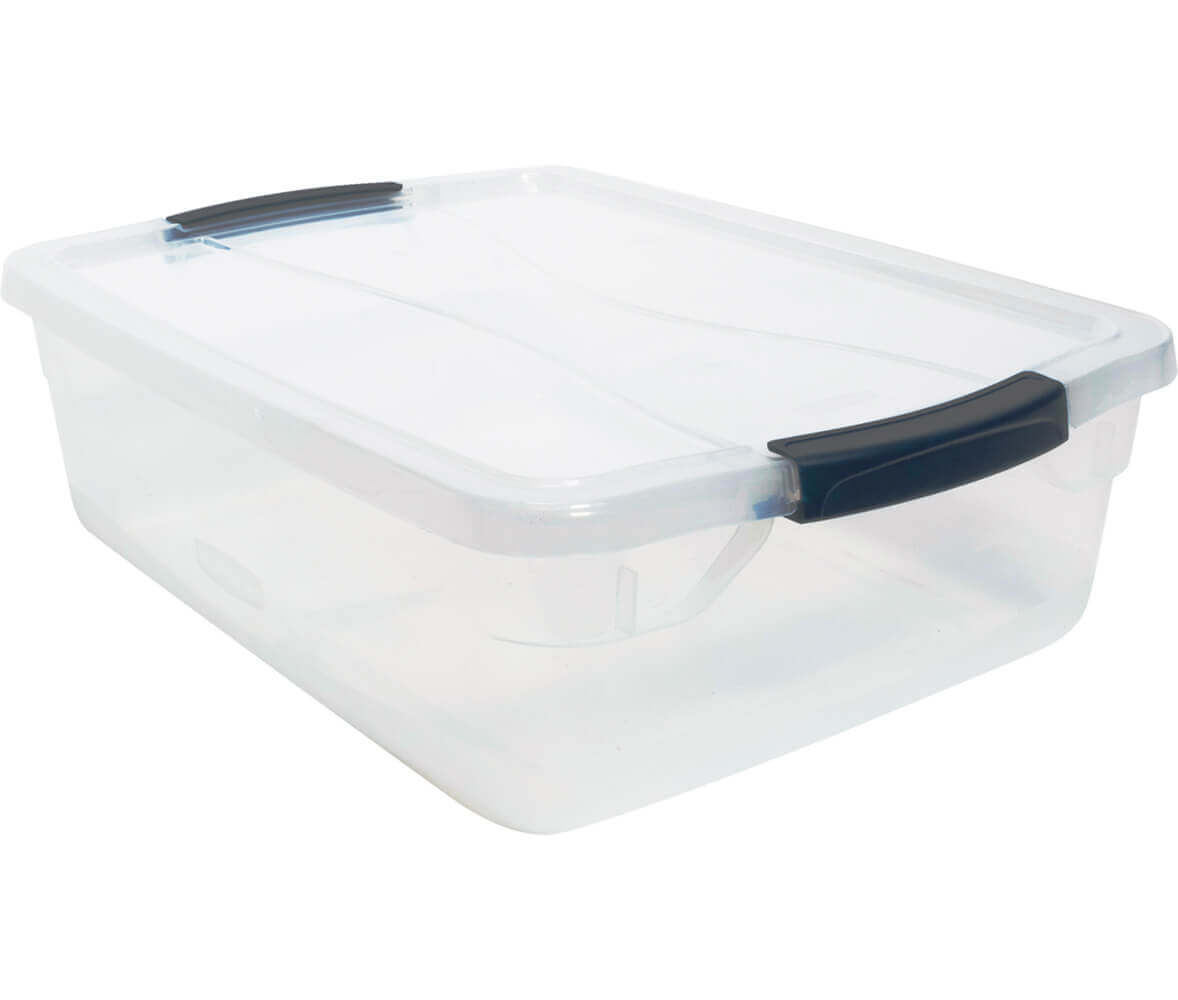 Cleverstore™ 16-Quart Clear Storage Box