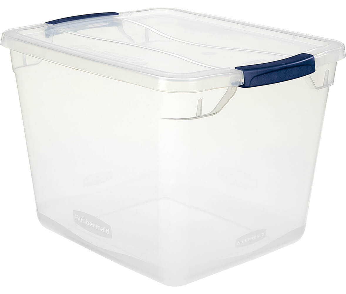 Cleverstore™ 30-Quart Clear Storage Box