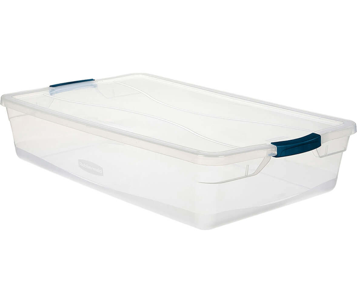 Cleverstore™ 41-Quart Clear Storage Box