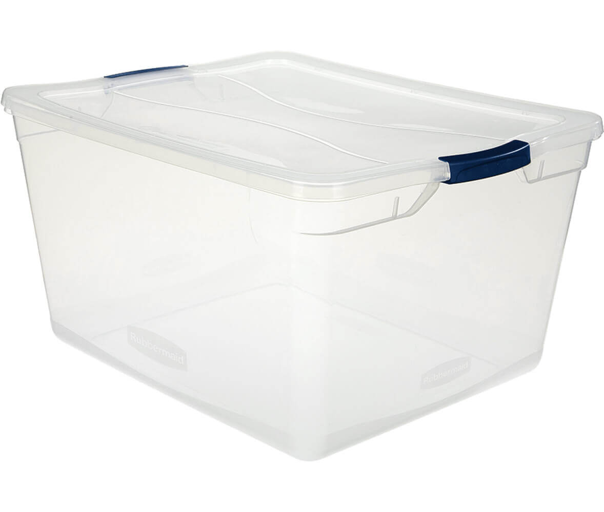 Cleverstore™ 71-Quart Clear Storage Box