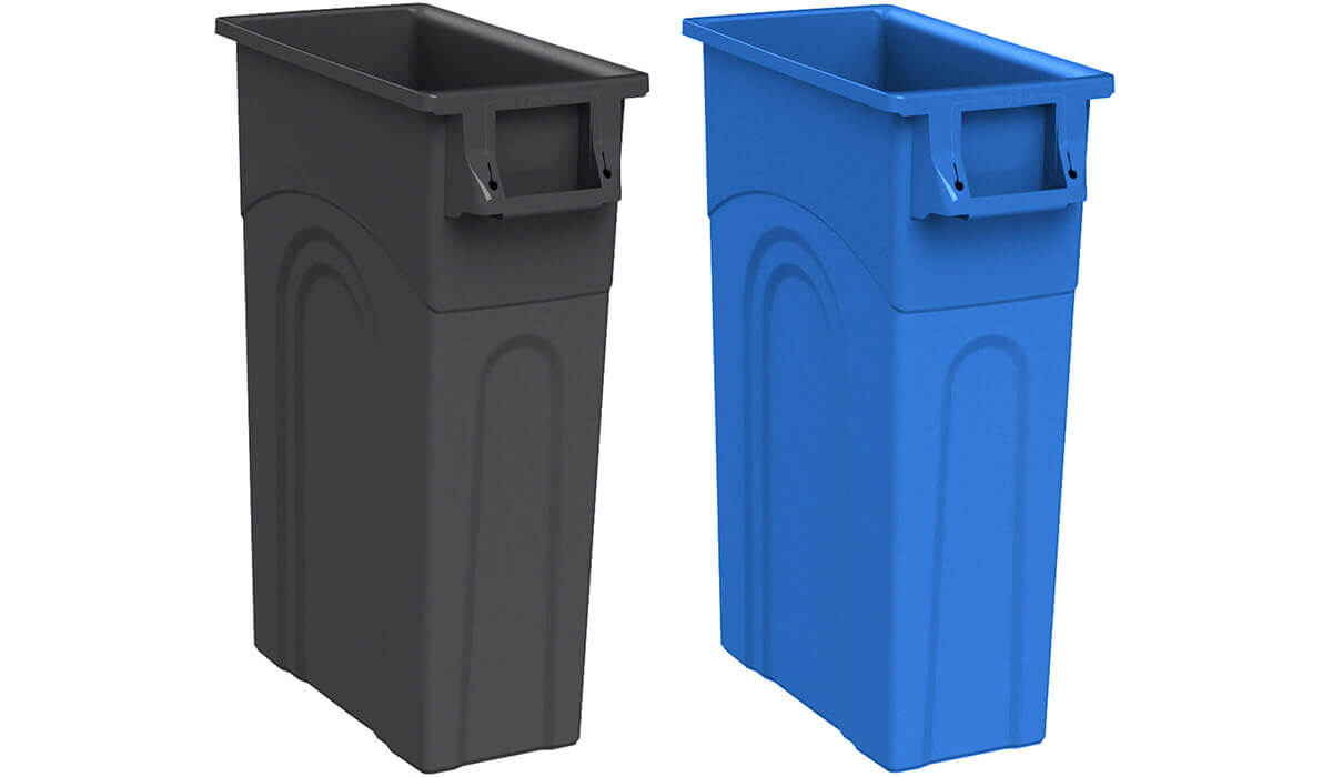 Highboy Trash or Recycling 23-Gallon