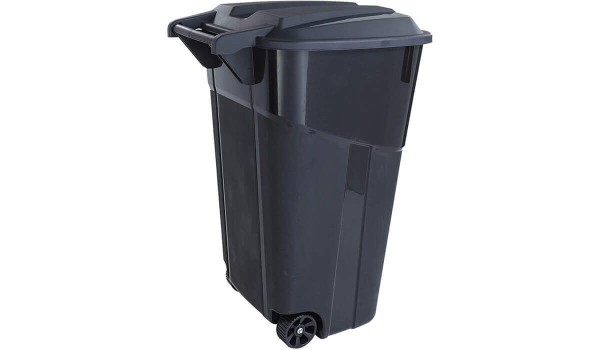 Wheeled Trash Can 32-Gallon