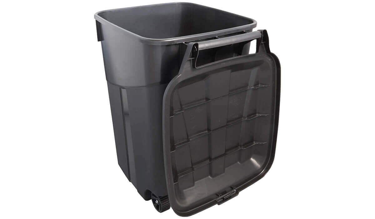 Wheeled Trash Can 45-Gallon